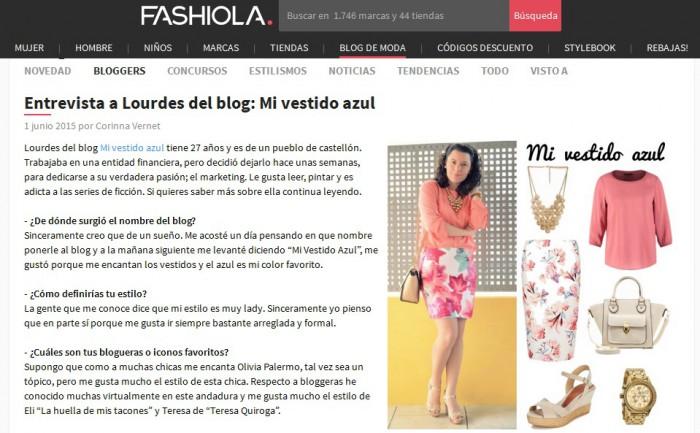 entrevista fashiola