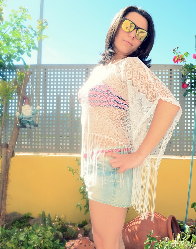 Mi vestido azul - Beach look (11)