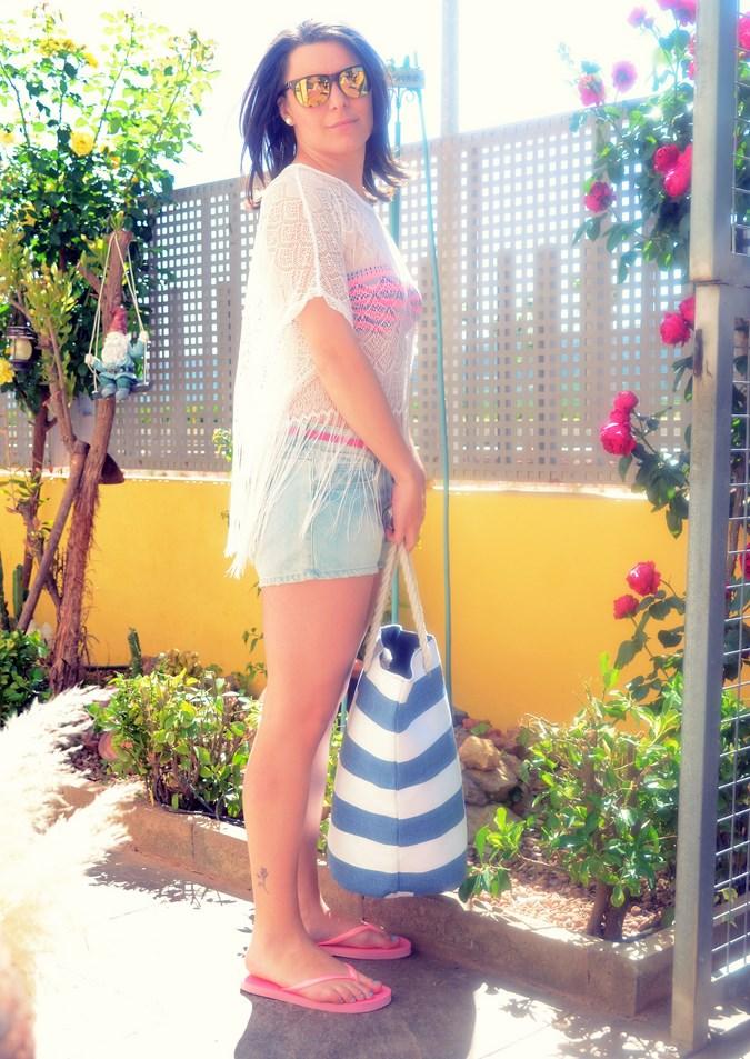Mi vestido azul - Beach look (4)