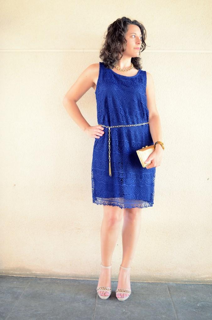 Mi vestido azul - Blue crochet dress (3)