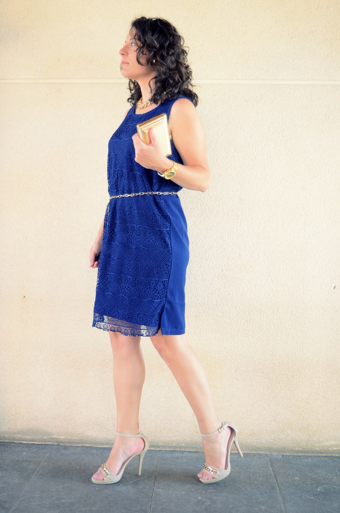 Mi vestido azul - Blue crochet dress (4)