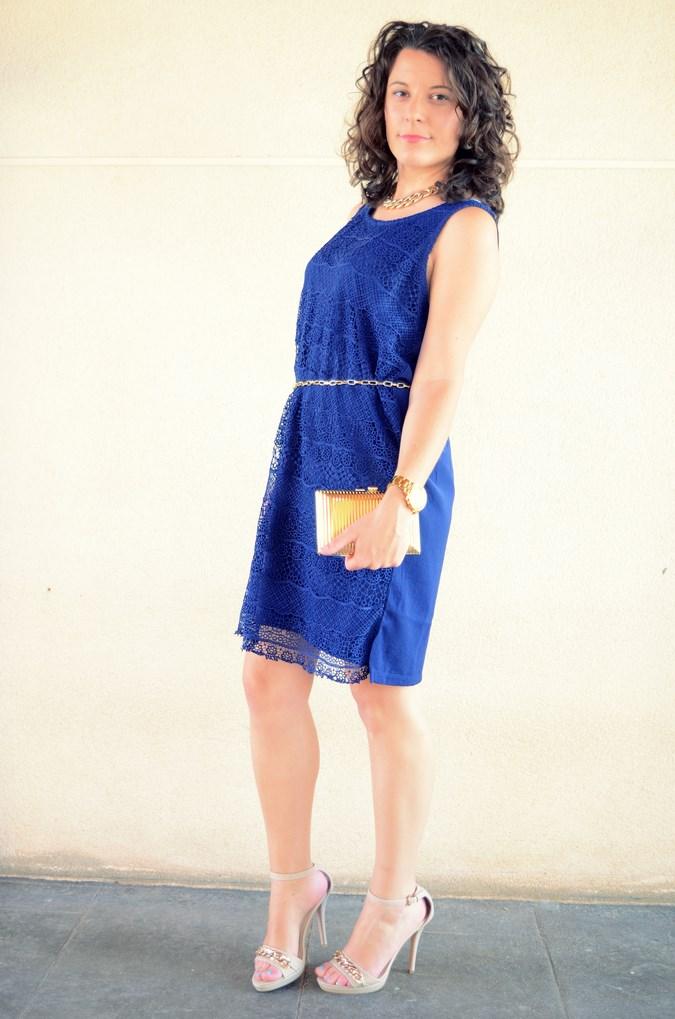 Mi vestido azul - Blue crochet dress (5)
