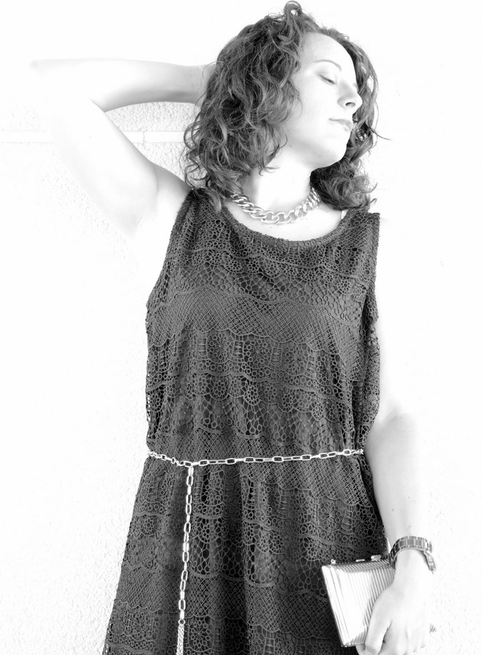 Mi vestido azul - Blue crochet dress (8)