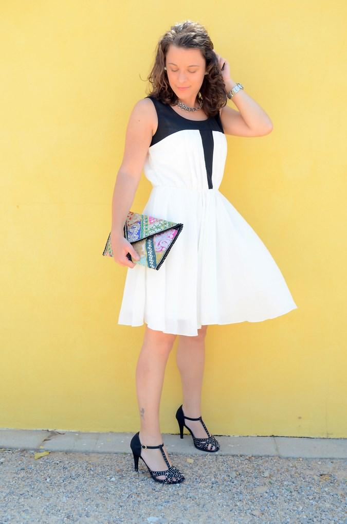 Mi vestido azul - Just black and white (4)