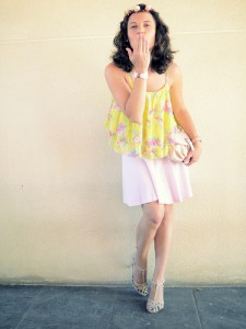 Mi vestido azul - Romantic friday (4)