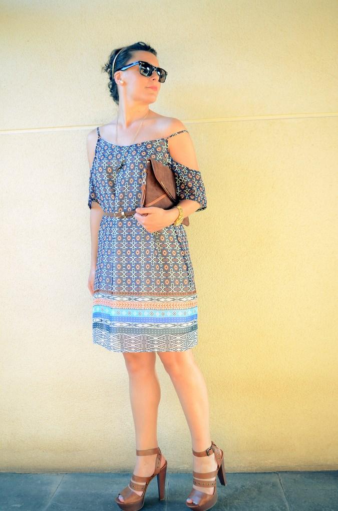 Mi vestido azul - Shoulder off dress (10)