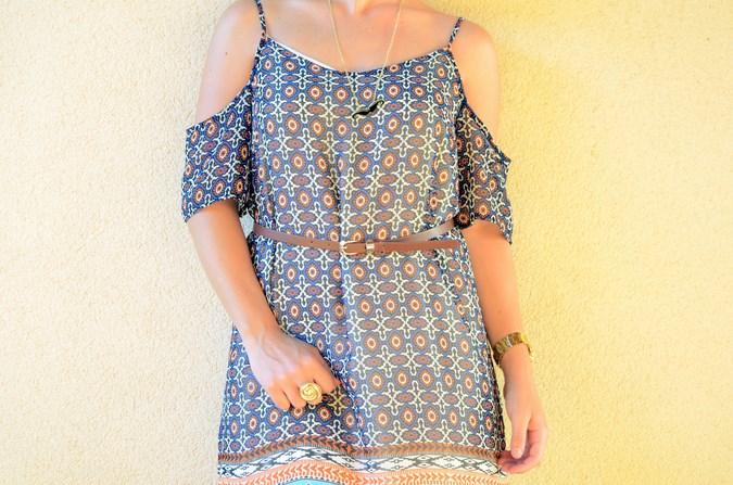 Mi vestido azul - Shoulder off dress (7)