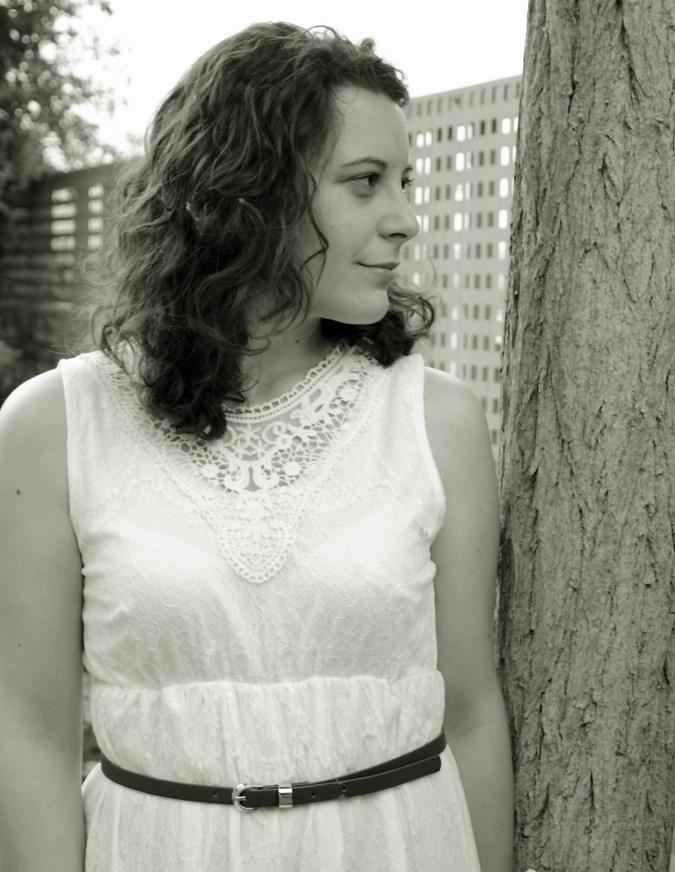 Mi vestido azul- White crochet dress (1)