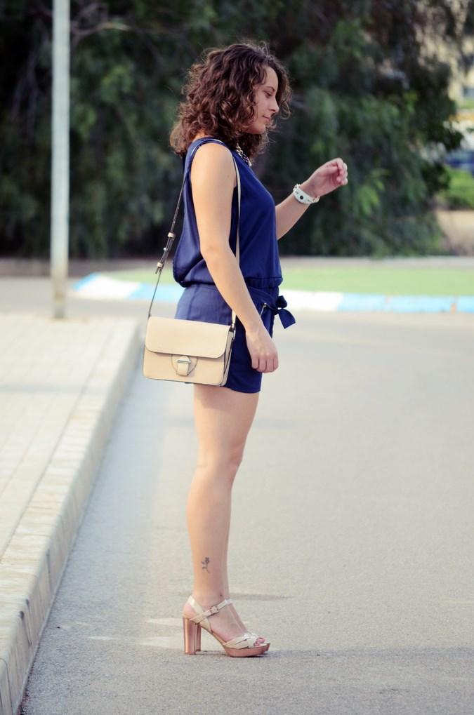 Mi vestido azul - Blue jumpsuit & Nude (4)