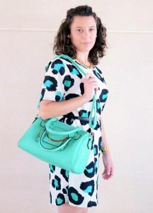Mi vestido azul - Green animal print (11)