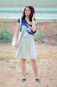 Mi vestido azul - Let the sunshine (2)