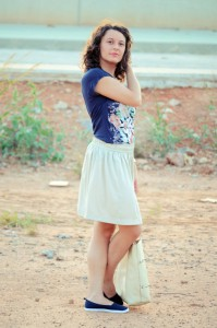 Mi vestido azul - Let the sunshine (6)