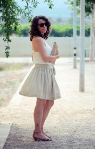 Mi vestido azul - Look Beige (6)