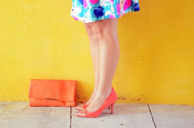 Mi vestido azul - Orange & flowers (9)