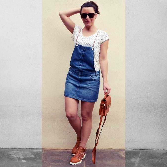Mi vestido azul - Peto vaquero (1)