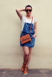 Mi vestido azul - Peto vaquero (3)
