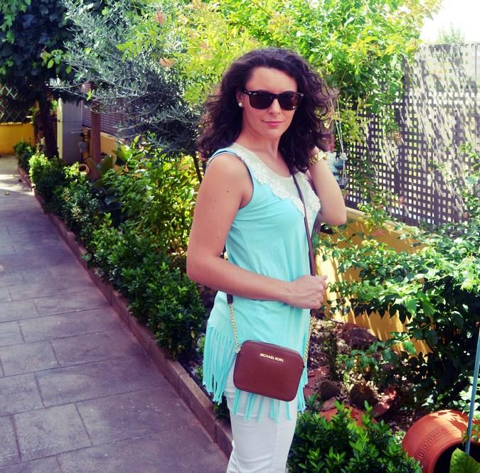 Mi vestido azul - A lot of fringes (6)