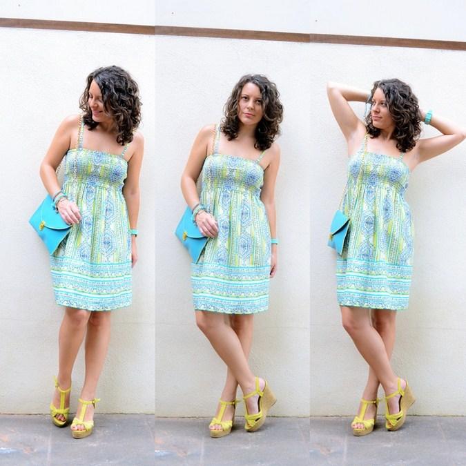 Mi vestido azul - Falda o vestido (1)