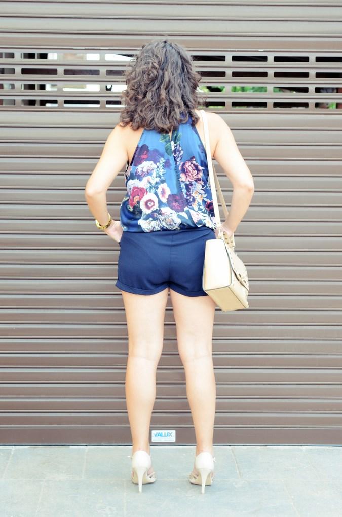 Mi vestido azul - Flower Mini Jumpsuit (11)