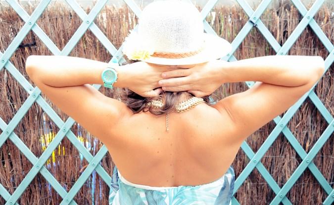 Mi vestido azul - Palms maxi dress (1)