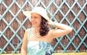 Mi vestido azul - Palms maxi dress (10)