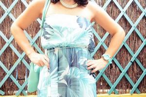 Mi vestido azul - Palms maxi dress (9)