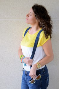 Mi vestido azul - Yellow & Denim Jumpsuit (11)