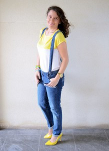 Mi vestido azul - Yellow & Denim Jumpsuit (7)