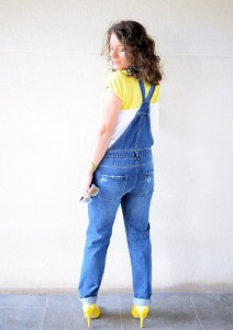 Mi vestido azul - Yellow & Denim Jumpsuit (8)