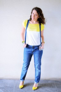 Mi vestido azul - Yellow & Denim Jumpsuit (9)