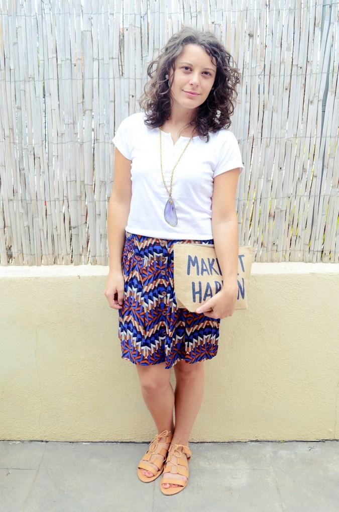 Geometric skirt (3)