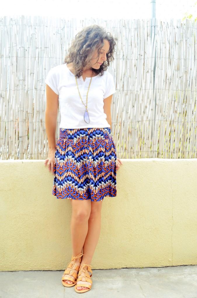 Geometric skirt (7)