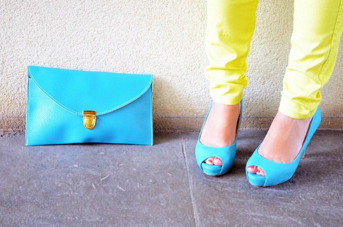 Mi vestido azul - Plumas (1)