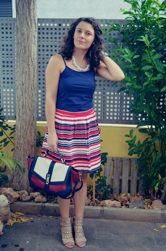 Striped Skirt (2)