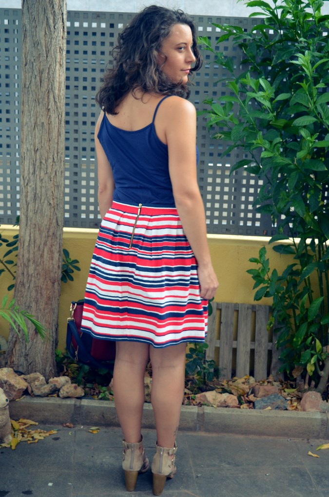 Striped Skirt (7)