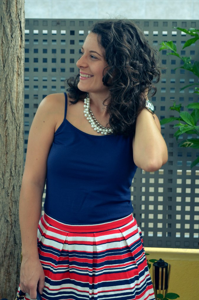 Striped Skirt (9)