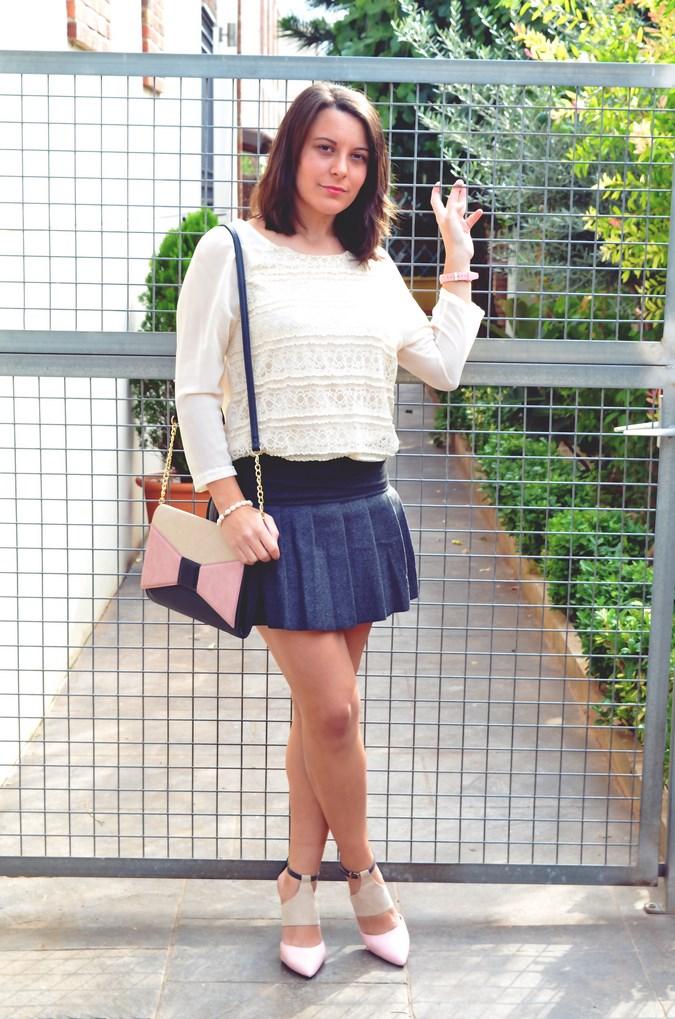 Pleated skirt (1)