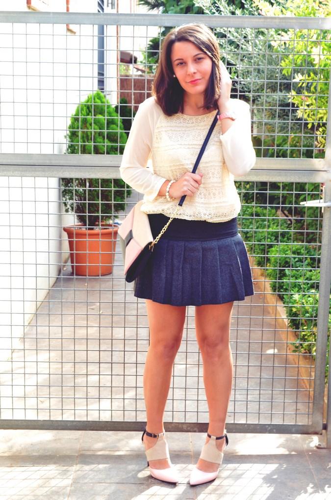 Pleated skirt (3)