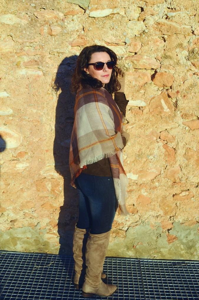 Brown look_maxiscarf_fringes_look_mivestidoazul (13)