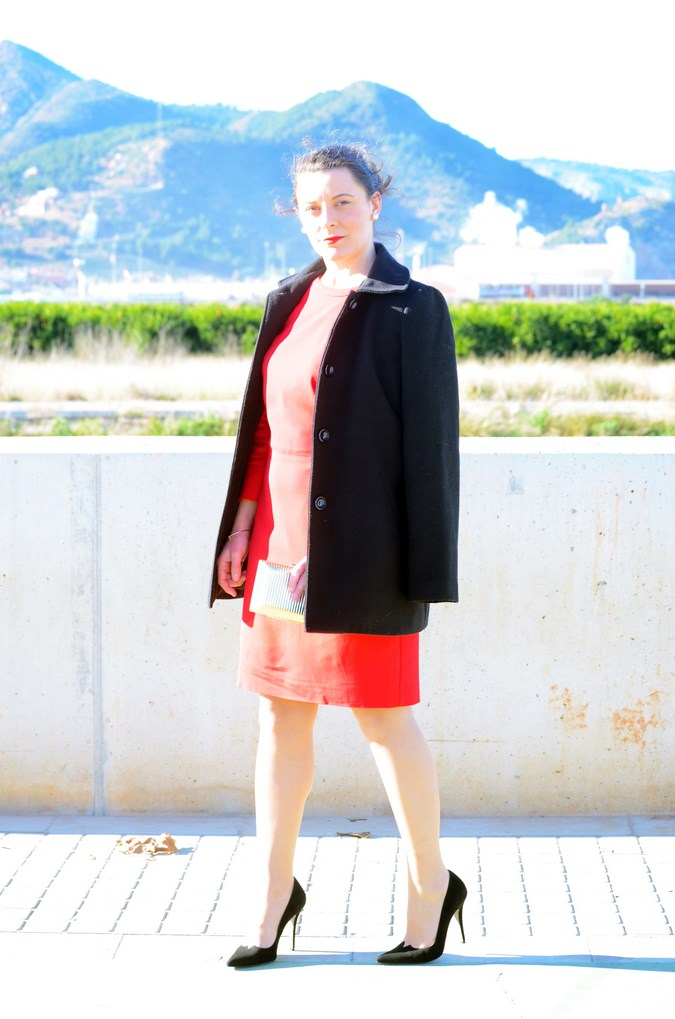 Lady in red & Magrid Bloggers Made In Spain 2016 _ Look_ Zapatos Magrit_mivestidoazul (18)