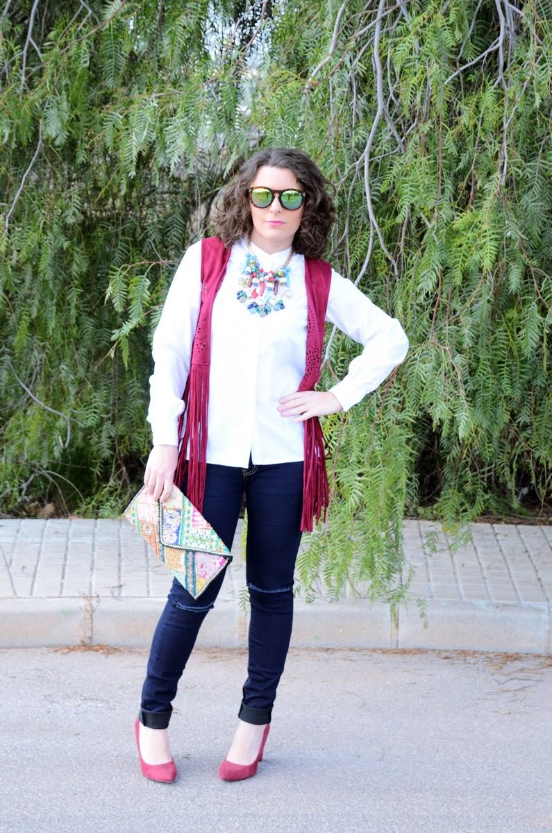 Chaleco burdeos con flecos_outfit_mivestidoazul (2)