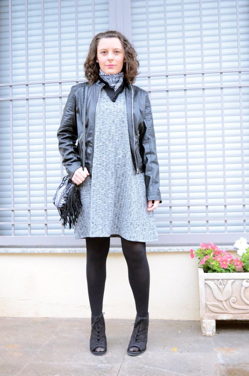 Como combinar un vestido gris_outfit_mivestidoazul (2)