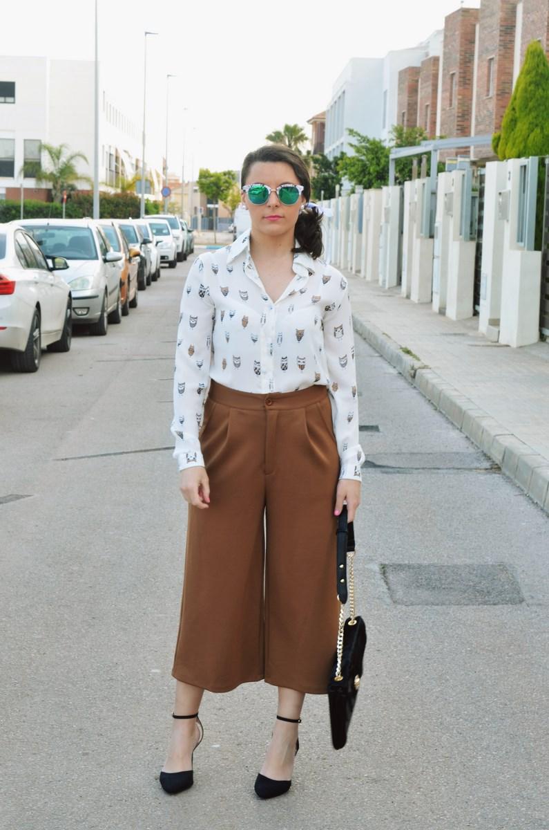 Blusa de buhos y culottes_outfit_mivestidoazul (2)
