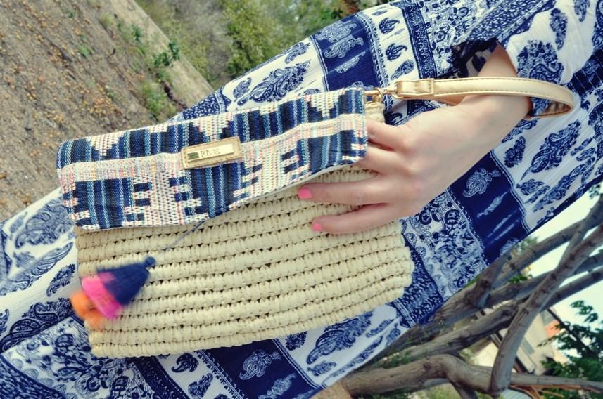maxi vestido tribal outfit mi vestido azul fashion blogger (16)