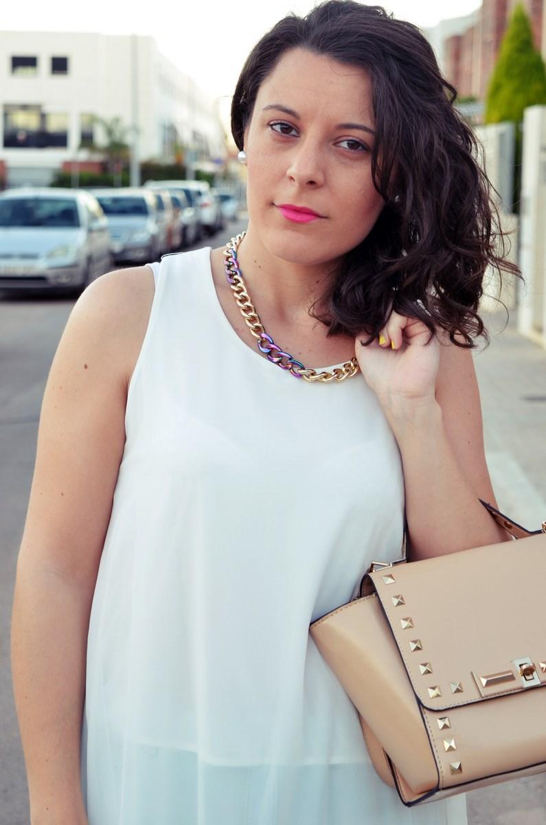 Blusa larga y shorts Outfit Mi vestidoazul Fashion blogger Friendsfluencers (13)