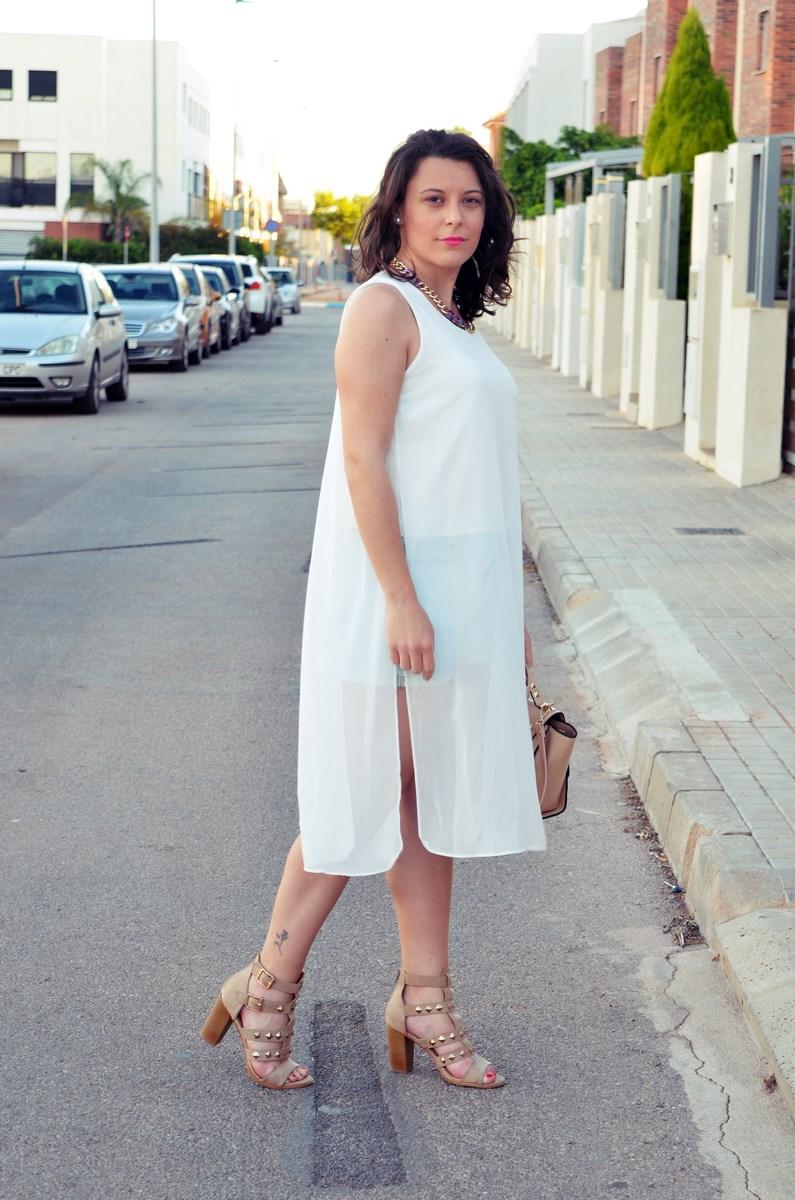 Blusa larga y shorts Outfit Mi vestidoazul Fashion blogger Friendsfluencers (5)
