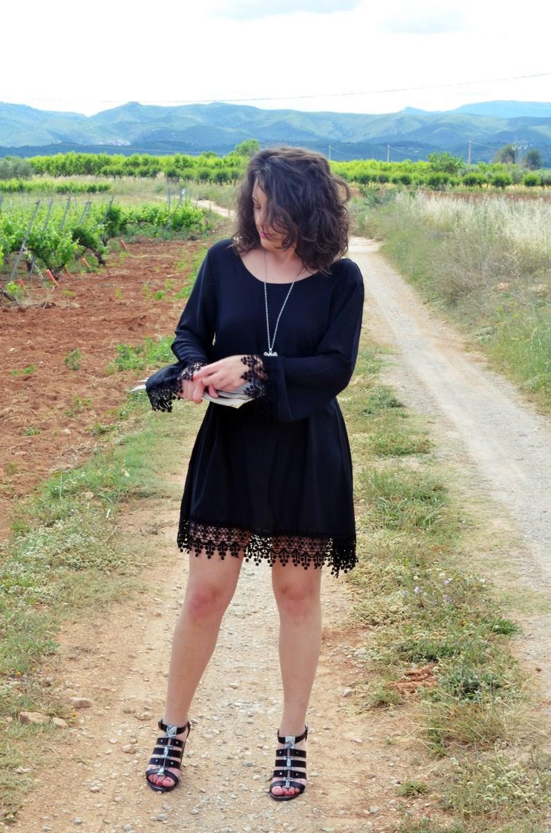 Vestido negro con crochet_outfit_look_mivestidoazul (2)