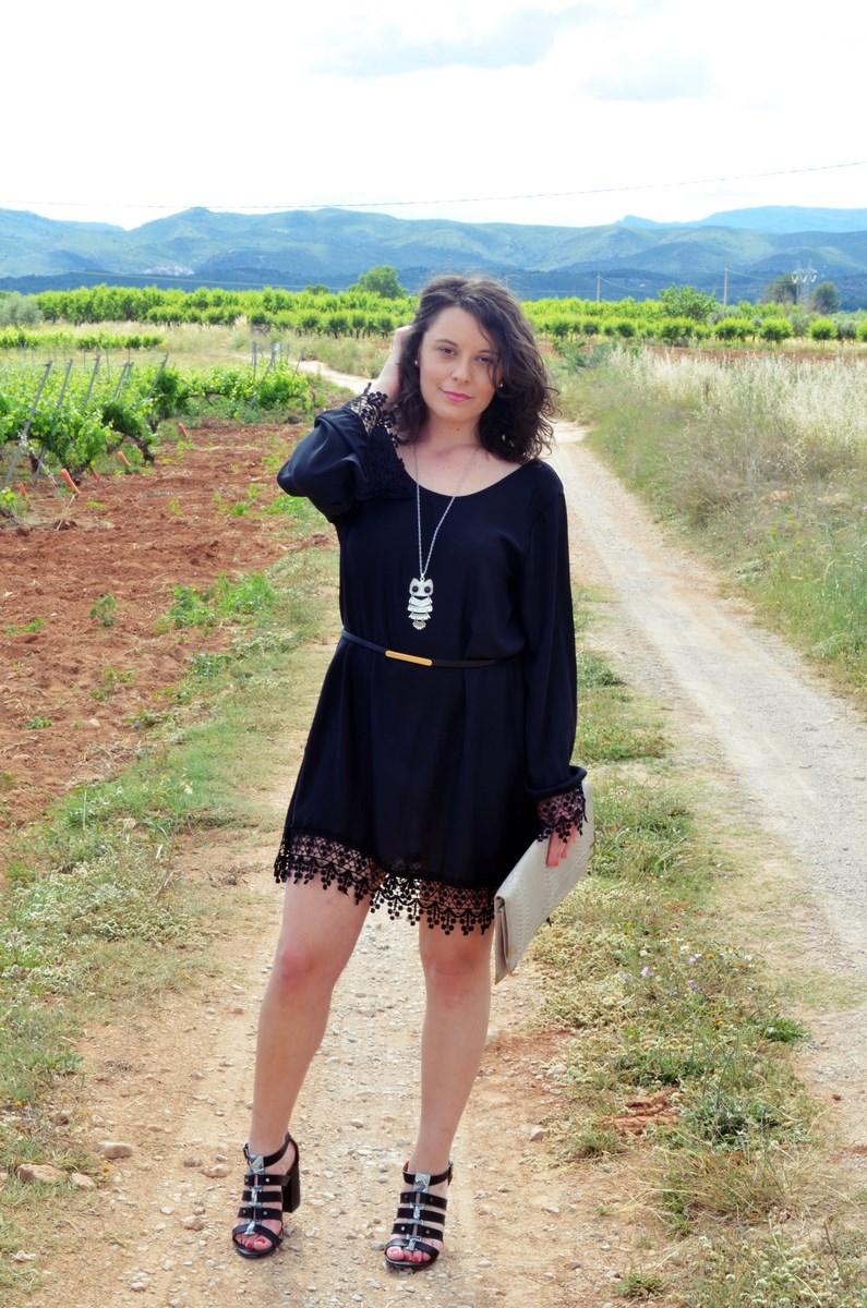Vestido negro con crochet_outfit_look_mivestidoazul (4)