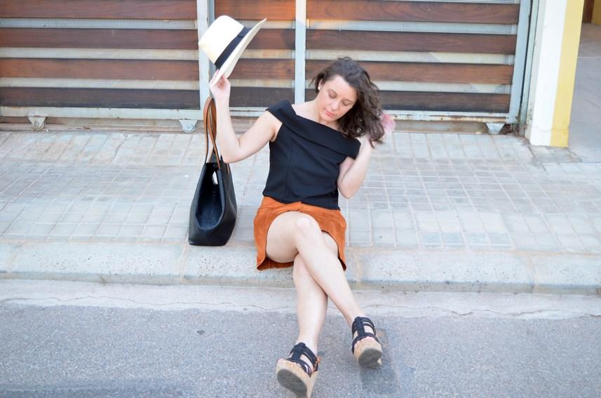 Falda abotonada y top escote bardot_look_mivestidoazul (19)