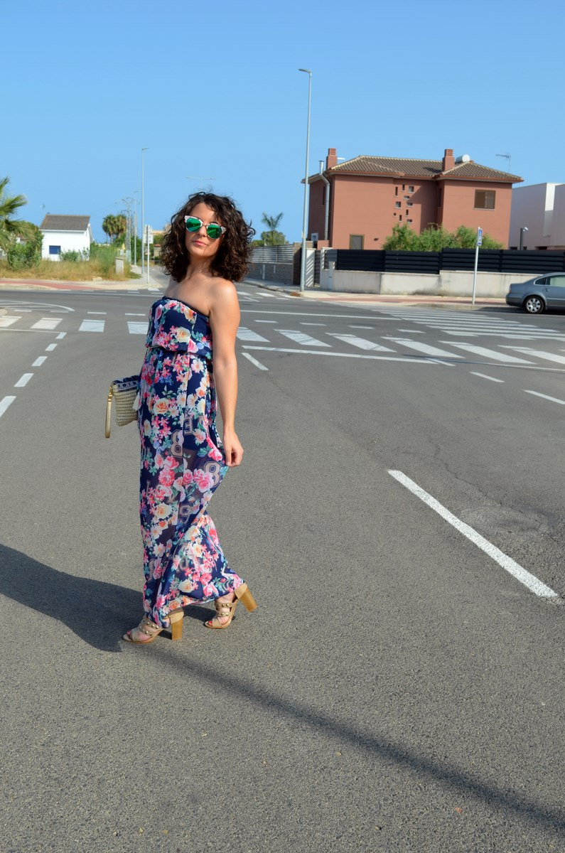 Maxi vestido de flores y clutch de Kbas_look_mivestidoazul (6)